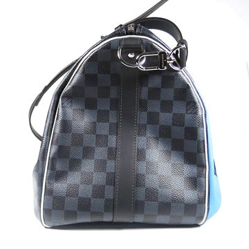 Louis Vuitton Regatta Damier Cobalt Keepall 45 Limited Edition Bag