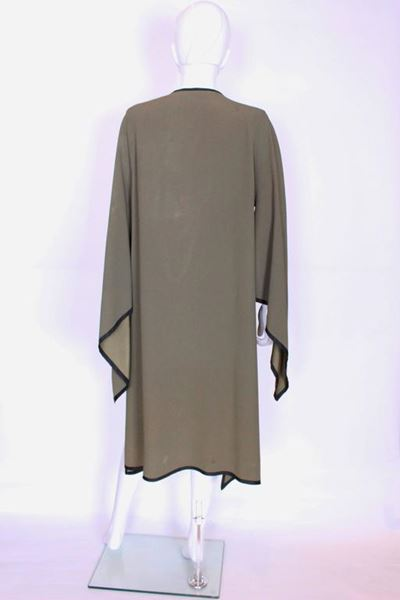 Yves Saint Laurent Rive Gauche 1970s Sage Green Vintage Over Jacket
