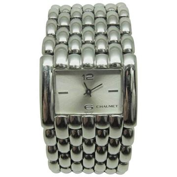 Chaumet Montre Khesis Stainless Steel Vintage Watch