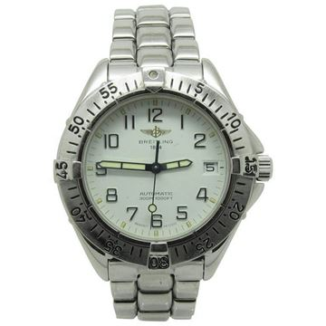 Breitling Stainless Steel Vintage Watch