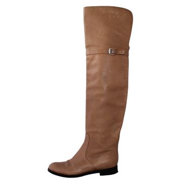 Gianvito Rossi Leather brown boots