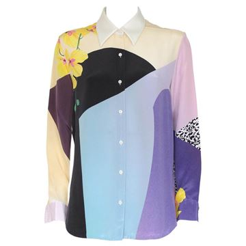Phillip Lim Silk patterned multicolour pink vintage shirt