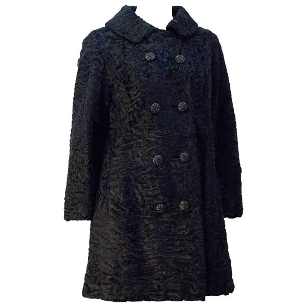 60s-black-broadtail-double-breasted-coat