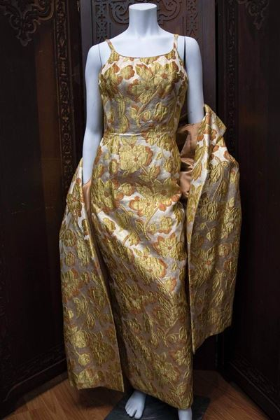 mr-blackwell-1960s-gold-brocade-evening-dress-and-coat