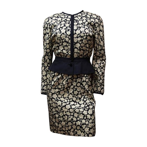 1980s-valentino-floral-dress-and-jacket
