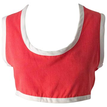 Vintage 1950s Watermelon Red Tank Top and Shorts