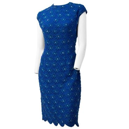 60s-royal-blue-embroidered-sheath-dress-with-scallop-hem