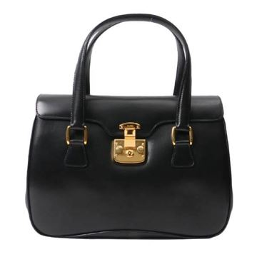 Gucci Lady Lock Black Top Handle Bag
