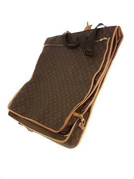 Louis Vuitton Monogram Canvas Brown Vintage Garment Case