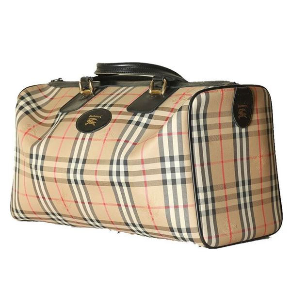 Burberry Travel Luggage Bag