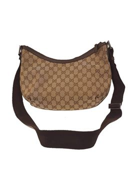 Gucci Gucci Monogram Brown Vintage Shoulder Bag
