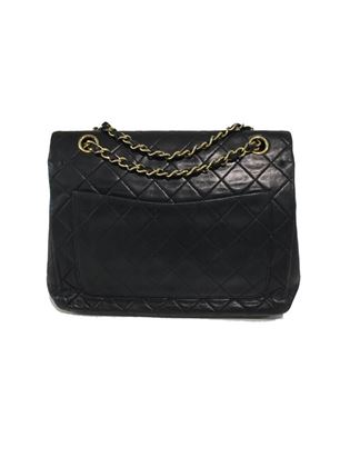 Chanel 2.55 S.P. Quilted Leather Black Vintage Flap Bag