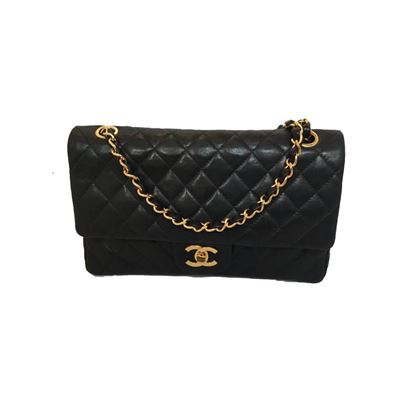Chanel 2.55 Black Handbag