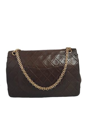 Chanel Reissue 2.55 Quilted Leather Brown Vintage Shoulder Bag
