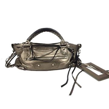 Balenciaga Bronze City Handbag