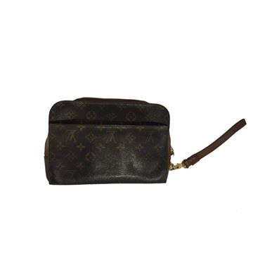 Louis Vuitton Brown Men's Clutch