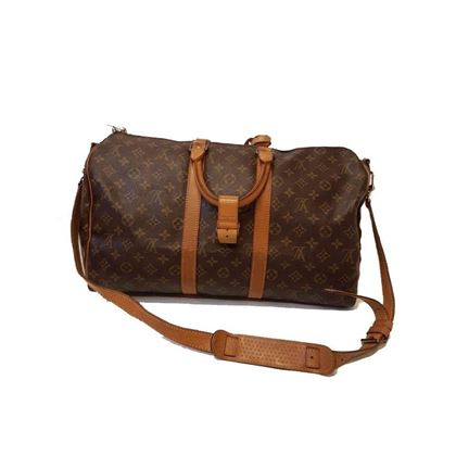 Keepall 50 With Strap For Travelling - Gold