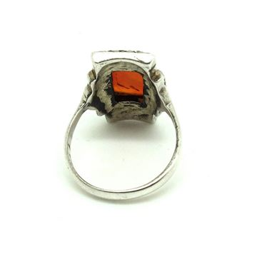 vintage-art-deco-1930s-carnelian-marcasite-silver-ring