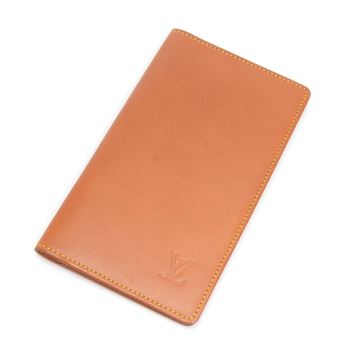 Louis Vuitton Brown Nomade Leather Agenda Cover