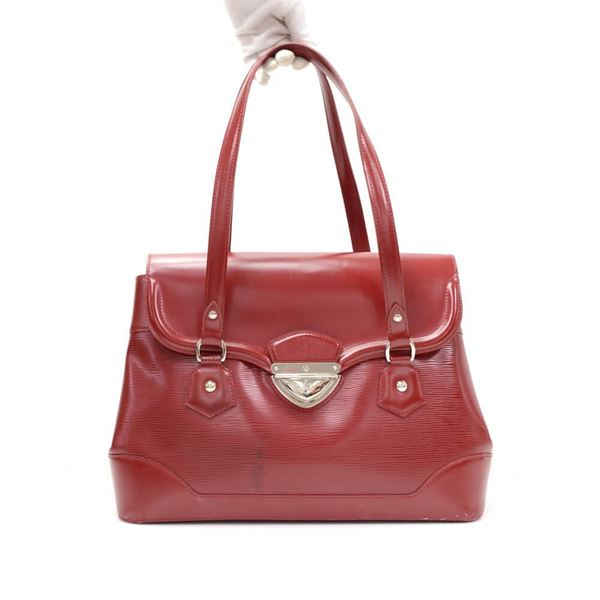 Louis Vuitton Bagatelle GM Red Epi Leather Shoulder Hand Bag