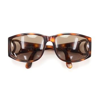 Chanel Brown Vintage Sunglasses
