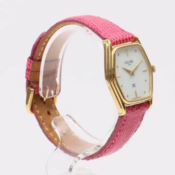 Celine Pink Gold Tone Watch
