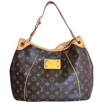 Louis Vuitton Galliera MM Monogram Brown Vintage Shoulder Bag