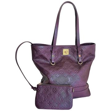Louis Vuitton Purple Citadines PM in LV monogram Vintage Shuolder Bag