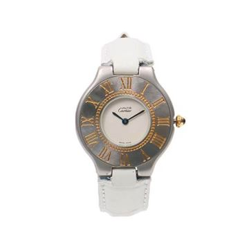 Cartier White Must21 ML Watch