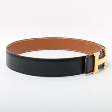 hermes-h-buckle-belt-black