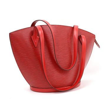 Louis Vuitton Red Saint Jacques GM Handbag