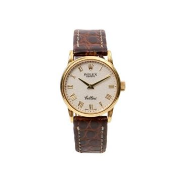 Rolex Brown Cellini 6111 18K Watch