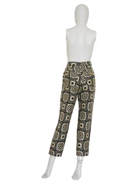 "MOSCHINO 1980s Vintage ""Carpet"" Pants Size S"
