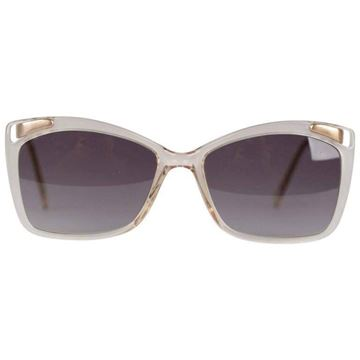Lanvin OL 521 076 Ivory and Gold 53/20 Sunglasses