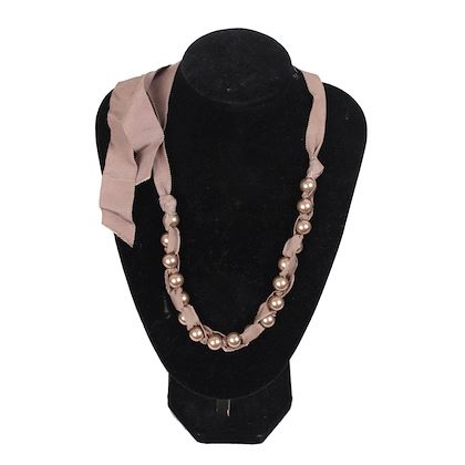 lanvin-taupe-grosgrain-ribbon-pearls-necklace-w-tie-closure
