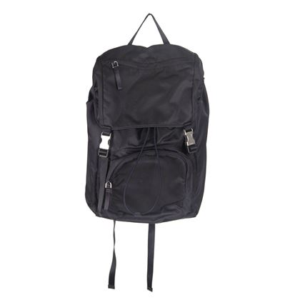 prada-navy-blue-nylon-canvas-double-buckle-backpack-2