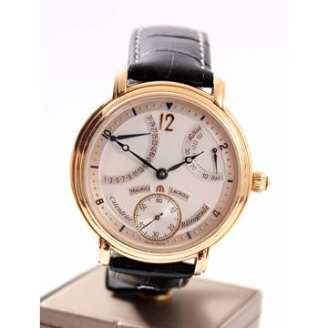 Picture of Maurice Lacroix Masterpiece Calendrier Retrograde Mens Watch
