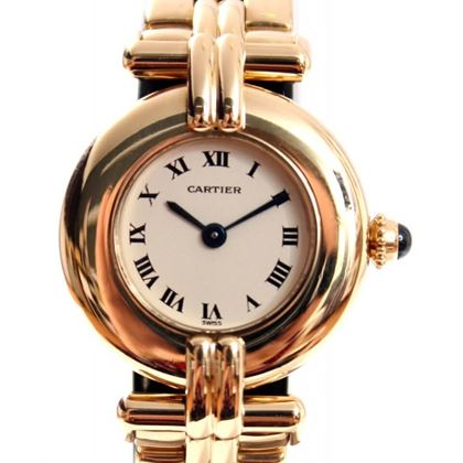 Cartier Colisee 18K Gold Ladies Watch