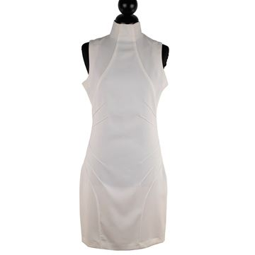 Versace Jeans Couture White Stretch Dress