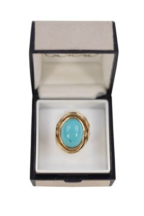 vintage-18k-yellow-gold-cocktail-ring-with-turquoise-cabochon-2