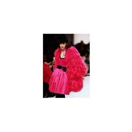 Yves Saint Laurent 1991/92 Documented Pink Balloon Skirt