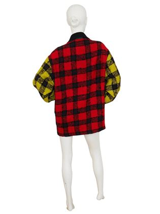 Gianni Versace Couture A/W 1991/92 Multicoloured Plaid Jacket