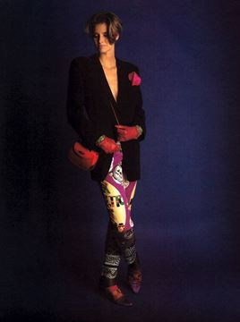 Gianni Versace Couture S/S 1991 Balletto Teatro Pink Leggings