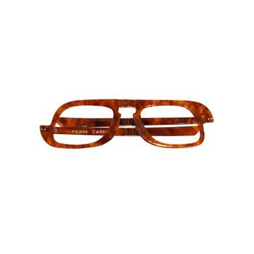 Pierre Cardin 1960s Tortoise Brown Folding Frames