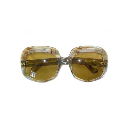 Paco Rabane 1970s Brown Oversized Sunglasses