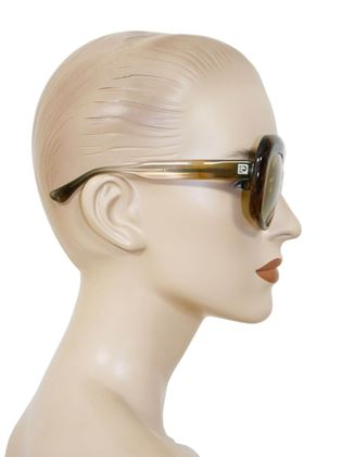 Paco Rabanne 1970s Transparent Oversized Sunglasses
