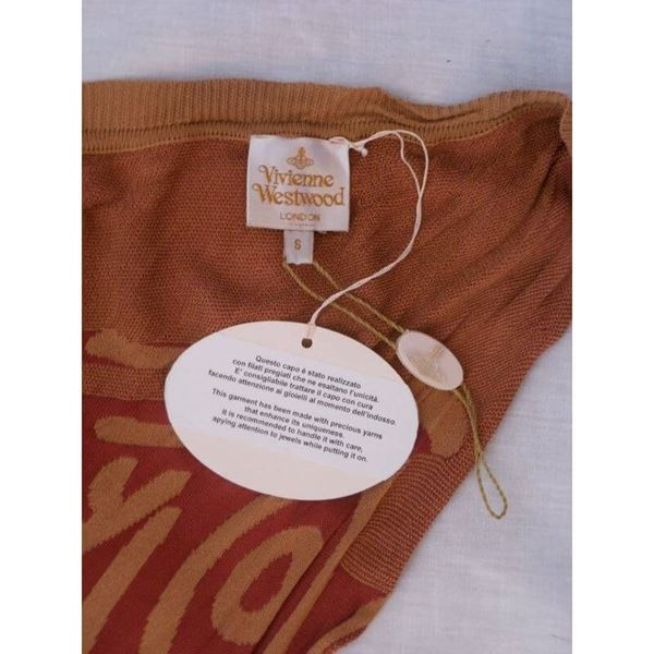 Picture of Vivienne Westwood Gold Label Abstract Knit Dress Unworn