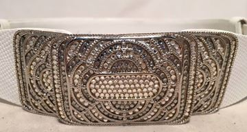 judith-leiber-vintage-white-leather-silver-rhinestone-buckle-belt