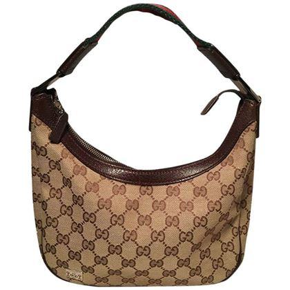 Gucci Monogram Canvas Mini Handbag