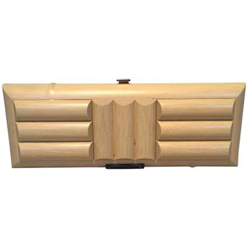 Gucci Wooden Bamboo Clutch Bag